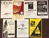 [Posters for seven different plays]