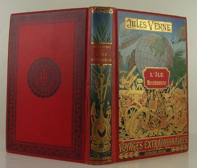 Hetzel, 1891. 1st Edition. Hardcover. Very Good/No Jacket. Very good in original bright red cloth co...
