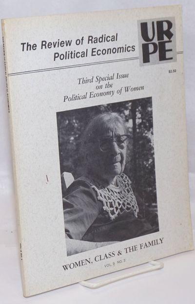 New York: Union for Radical Political Economics, 1977. 81p., 8.5x10.75 inches, wraps, wraps beginnin...