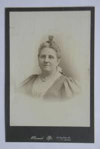 Cabinet Photograph. Studio Portrait of a Woman.