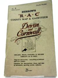 The R.A.C County Road Map And Gazetteer (Devon and Cornwall) No. 9