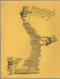 image of Edward Gorey Book List 1974