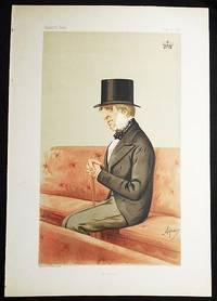 """image of """"Position"""": The Duke of Devonshire (Statesmen, no. 174) -- Vanity Fair, June 6, 1874"""