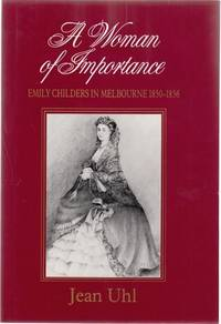 A Woman of Importance. by  JEAN UHL - Hardcover - from Time Booksellers (SKU: 104341)