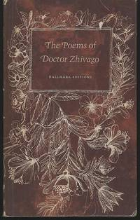 POEMS OF DOCTOR ZHIVAGO by Pasternak, Boris - 1967