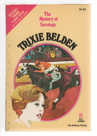 image of TRIXIE BELDEN: THE MYSTERY AT SARATOGA. #24.