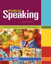 Public Speaking : Concepts and Skills for a Diverse Society