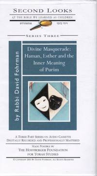 image of Divine Masquerade: Haman, Esther and the Innter Meaning of Purim
