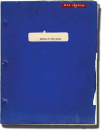 Battle of the Bulge (Original screenplay for the 1965 film, Dana Andrews' copy)