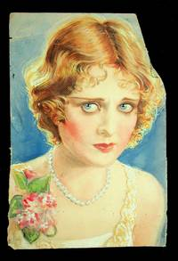 [ Original artwork ] Portrait of a woman wearing pearls