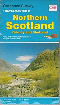 image of Travelmaster: Northern Scotland, Orkney and Shetland Sheet 2