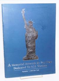 A memorial artwork by Pop Zhao dedicated to 9.11 victims; September 7, 2003