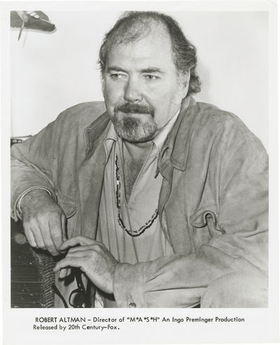 Los Angeles: Twentieth Century-Fox, 1970. Vintage studio still photograph of Robert Altman for the 1...