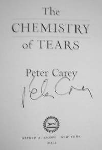 THE CHEMISTRY OF TEARS (SIGNED)