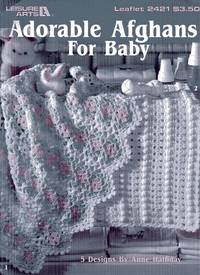 Adorable Afghans for Baby Leaflet 2421