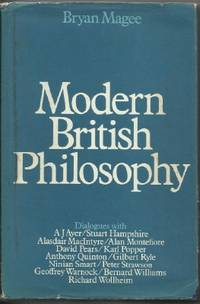 MODERN BRITISH PHILOSOPHY by  Bryan Magee - Hardcover - 1971 - from The Old Bookshelf and Biblio.com