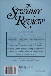 The Sewanee Review Spring April-June 2010 Volume Cxviii, Number 2