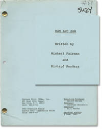 image of Found Money [Max and Sam] (Original screenplay for the 1983 television film)