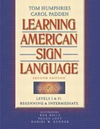 image of Learning American Sign Language: Levels I_II--Beginning_Intermediate