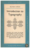 image of Introduction to Typography (Pelican Books A288)