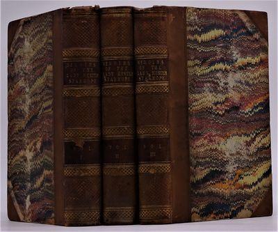 London: Henry Colburn, 1845. xvii, 394, vi. 384, vii, 361pp. Three volumes bound in contemporary hal...