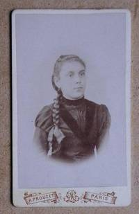 Carte De Visite Photograph: Portrait of a Young Girl with a Pony Tail.