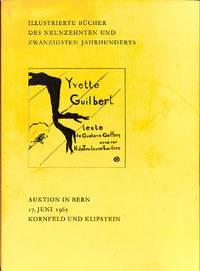 Vente 17 Juni 1965:  Illustrierte Bücher des Neunzehnten und Zwanzigsten  Jahrhunderts. Bibliothek B. von S.