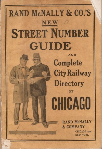 Chicago: Rand McNally & Co, 1910. Wraps. Good. Illustrated wraps with title on the front cover and a...
