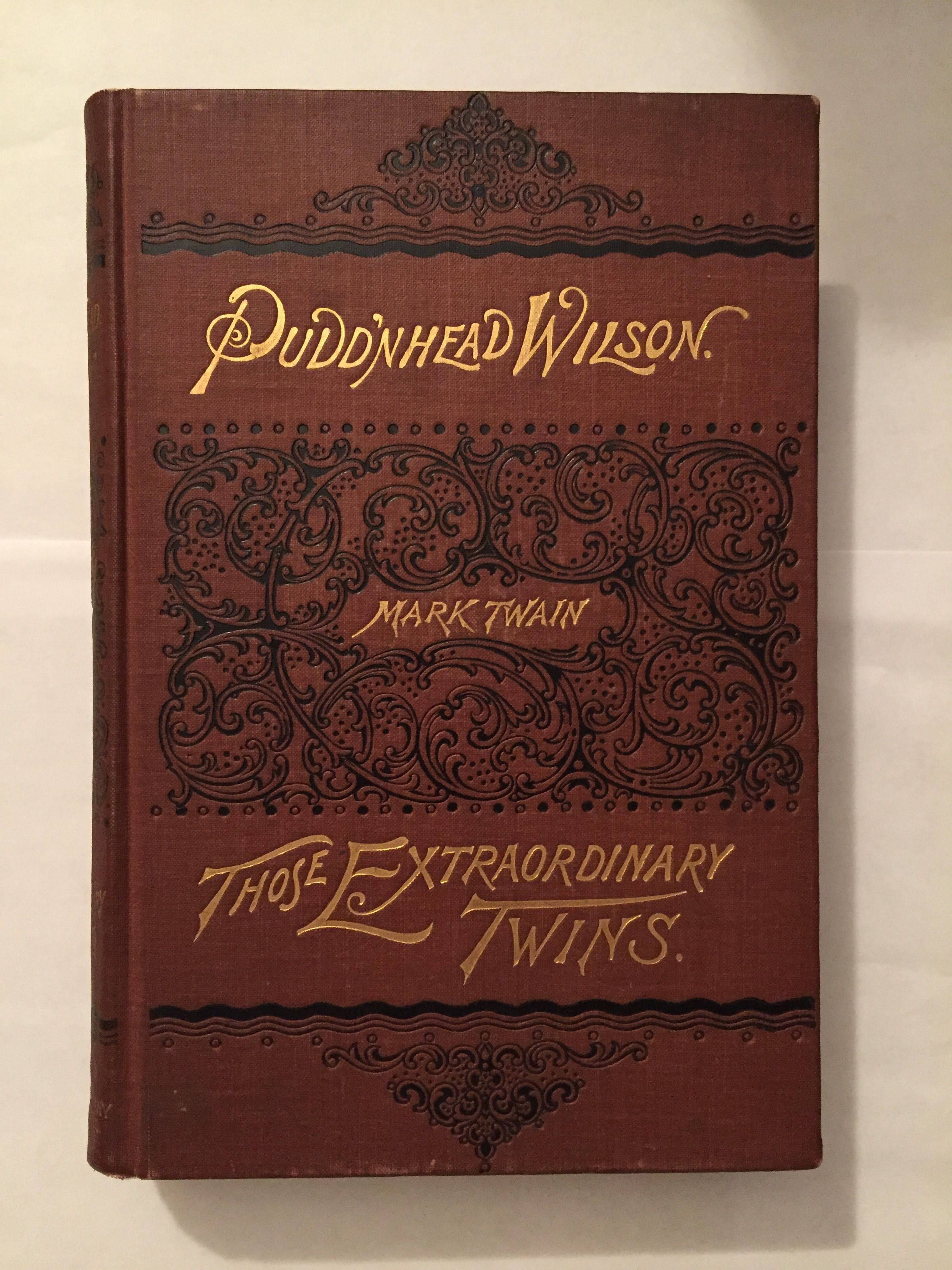 an analysis of the book puddnhead wilson by mark twain Pudd'nhead wilson: mark twain - full audiobook by mark twain about the book: pudd'nhead wilson (1894) is a novel by american writer mark twain its central.