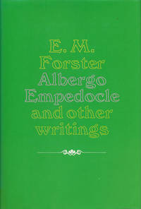 image of Albergo Empedocle And Other Writings