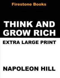 image of Think and Grow Rich: Extra Large Print