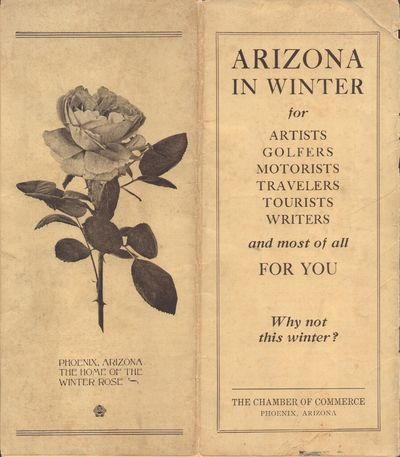 Phoenix, Arizona: Chamber of Commerce. Good. Pamphlet. Promotional pamphlet, folded once. Pictorial ...