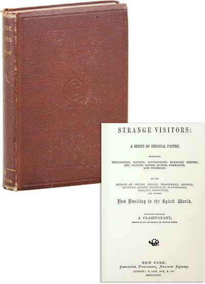 New York: Carleton, 1869. First Edition. Hardcover. Collection includes two contributions by Margare...