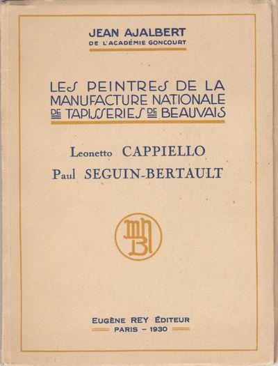 Paris: Eugène Rey Éditeur, 1930. 12mo (7 1/4 x 5 1/2 inches; 185 x 140 mm), pages, in printed wrap...
