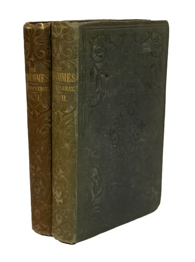 London: Bradbury and Evans, 1854-1855. Two volumes. Illustrated with wood and steel engravings by Ri...