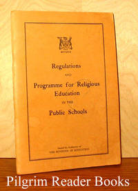 Regulations and Programme for Religious Education in Public Schools.  1960 (Ontario)