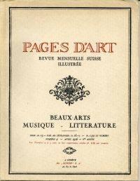 Pages d'Art.