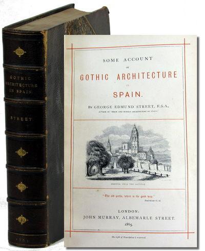 London: John Murray, 1865. Hardcover. Very good. xiv, 516pp+ index. numerous plates, some folding. C...