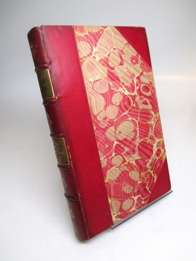 Boston: Houghton Mifflin, 1892. hardcover. Frontispiece portrait, 13 vols., 8vo, 3/4 red calf (light...