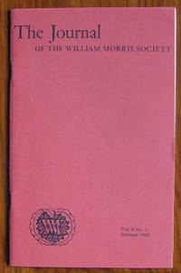 The Journal of the William Morris Society Volume V Number 1  Winter 1982