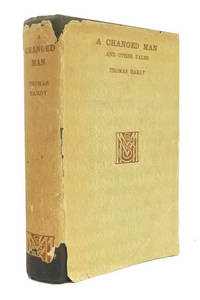 A Changed Man: The Waiting Supper And Other Tales concluding with The Romantic Adventures of a Milkmaid by  Thomas HARDY - First Edition - from Adrian Harrington Rare Books and Biblio.com