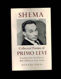 Shema: Collected Poems of Primo Levi