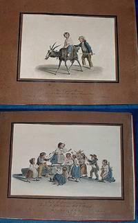 OEUVRE DE GEOFROI MIND de Berne receuilli de différens Cabinets particuliers et publié par J.P. Lamy, Editeur d'Arts à Berne et Bâle. Livraison accompagnée d'une Notice historique er biographique du Peintre