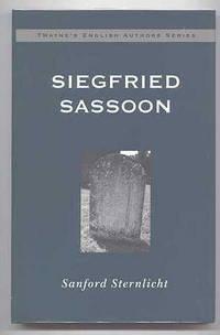 image of SIEGFRIED SASSOON.  TWAYNE'S ENGLISH AUTHORS SERIES.