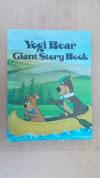 Yogi Bear Giant Story Book.