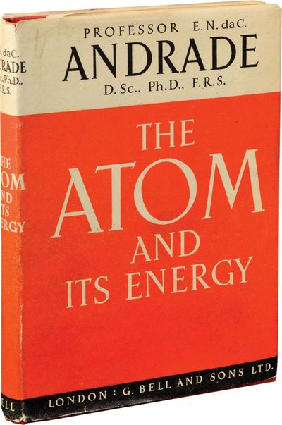 London: G. Bell and Sons, 1947. First Edition. First Edition. Discusses the general elements of atom...