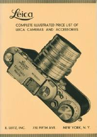 image of Leica Complete Illustrated Price List of Leica Cameras and Accessories