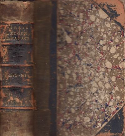 Philadelphia: George W. Childs, 1879. Hardcover. Good. 12mo. Hardcover. Marbled paper covered boards...