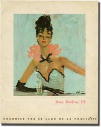 image of Prix Praline 1959 (Original French program for the 1959 award ceremony, belonging to Christian de la Maziere)