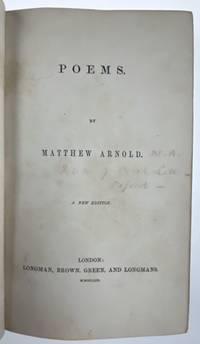 [Binding, Fine- Roger de Coverley] Poems (1853); Poems (1855)